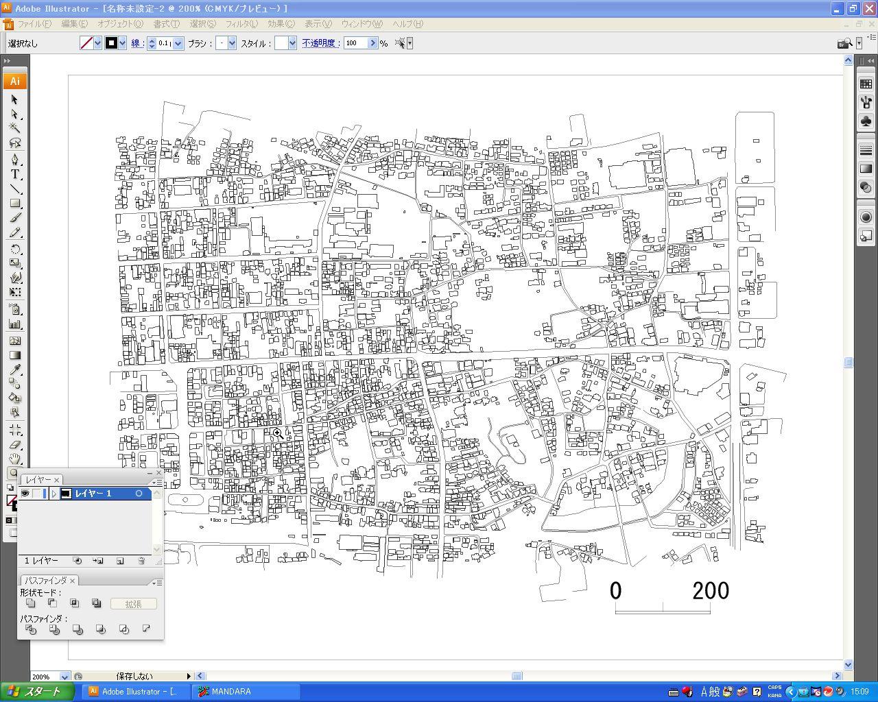 2 12 国土地理院の基盤地図情報を利用した詳細地図の白地図作成