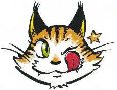ぺロ猫縮小