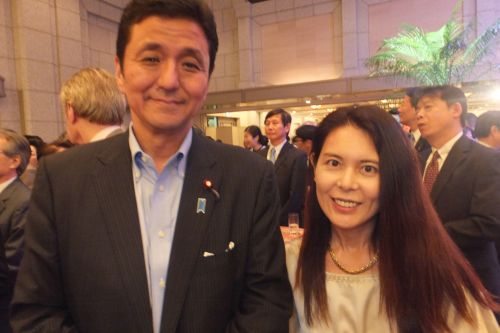 岸外務副大臣と 500DSCF4358
