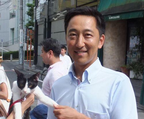 500渋谷区議会議員 小柳政也先生