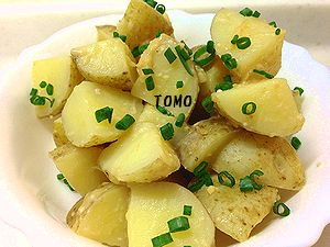 ジャガイモの味噌バター煮