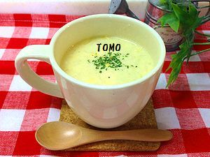 濃厚豆乳スープ