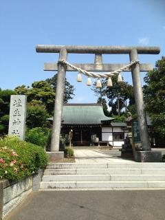 埴生神社 鳥居