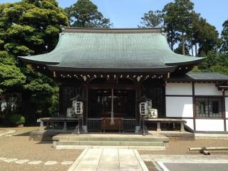 埴生神社 拝殿