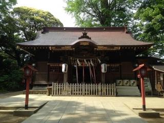 麻賀多神社 拝殿
