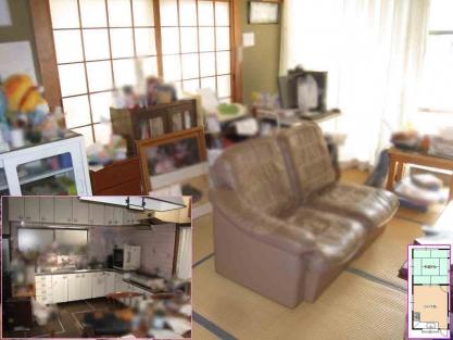 【施工事例vol.76】施工前:台所・キッチン+和室→LDKへの総合リフォーム.jpg