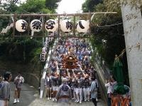 八幡町会神輿