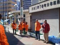 町会の清掃活動