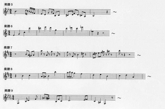 バレエ・ロミオとジュリエット楽譜b