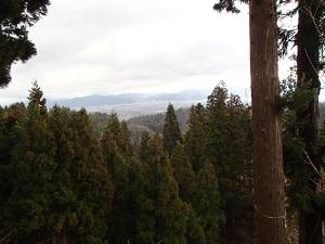 初恋の丘からの眺め