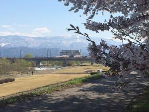 米沢市から望む吾妻山