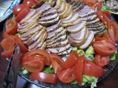 合鴨サラダ