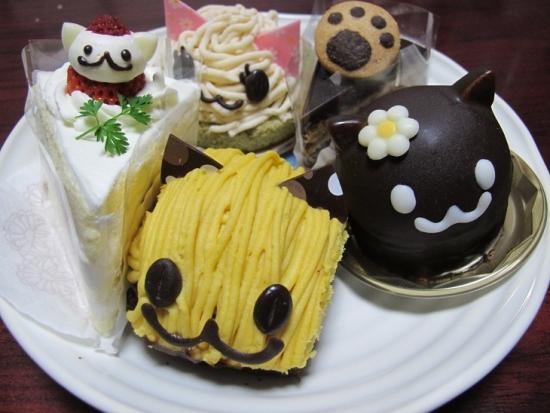いもねこさんのケーキ