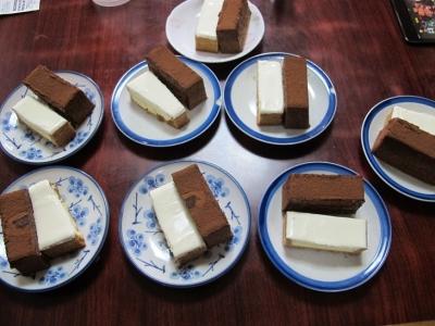 チーズボックスとケース・オ・ショコラ