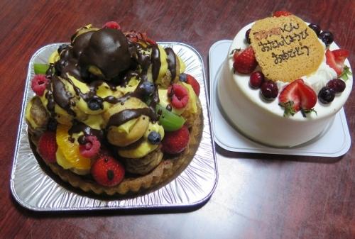 19歳のバースデーケーキ