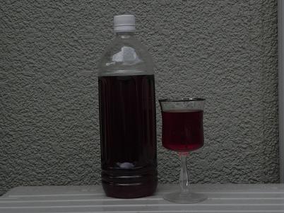 チョコレートベリー酒