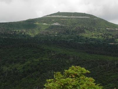 刈田岳方面
