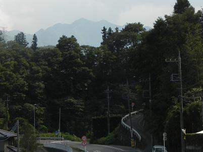 熊倉山方面