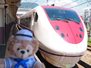 越後湯沢からはくたかで金沢へ