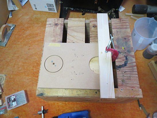 Stereo誌付録ユニットエージング用箱の制作1(挫折?編)