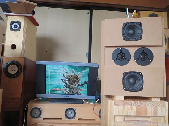 Stereo誌付録ユニットエージング用箱の制作5