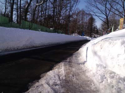 H26大雪事務所前