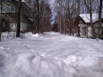 H26大雪分譲地未除雪
