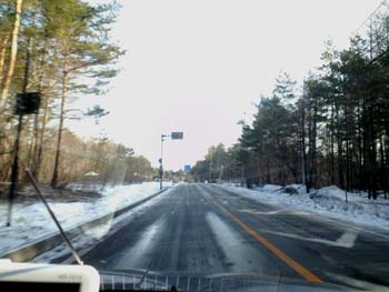 H26.3.31国道146号少し雪