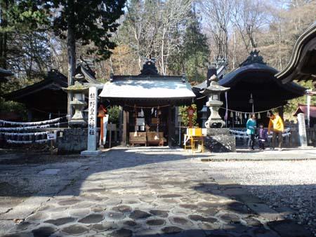 旧碓氷峠熊野神社境内