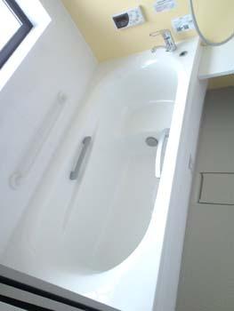 樫原邸ユニットバス完成浴槽