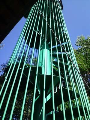 小林造園絶景鉄骨階段