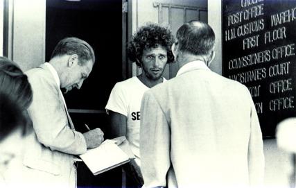 ビミニで逮捕されたリック・オバリー