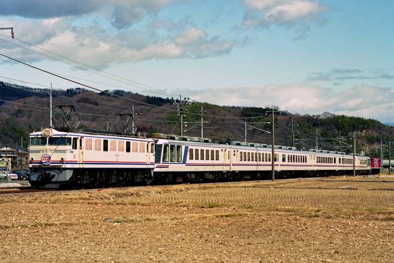 2001年3月18日 安中~磯部にて