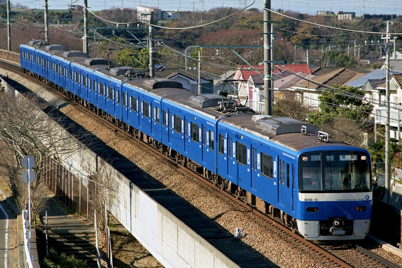 2005年12月25日 三崎口~三浦海岸にて