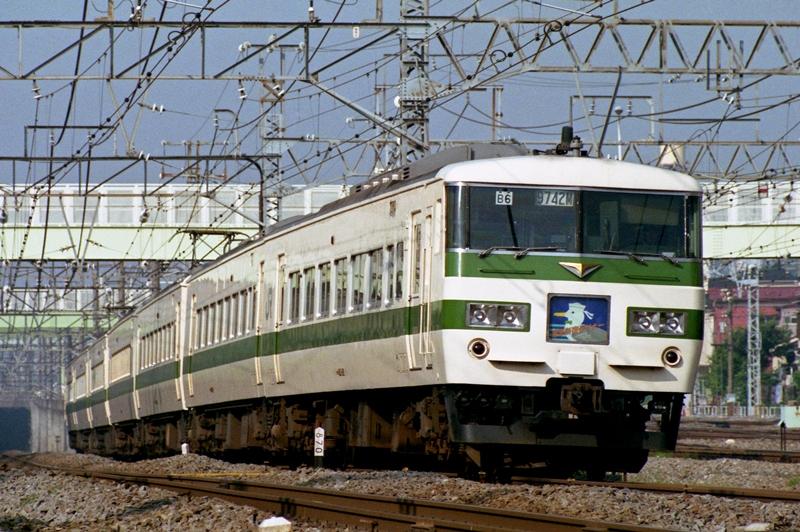 1990年5月28日 横浜羽沢~鶴見にて