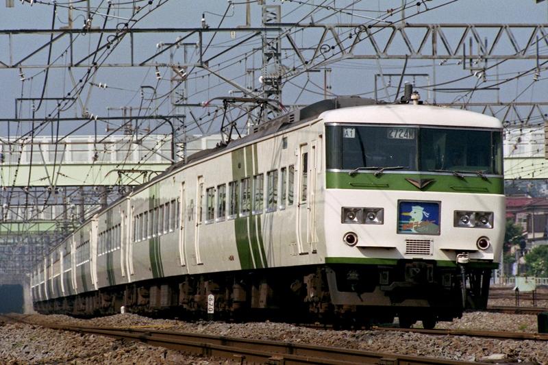 1990年5月28日 横浜羽沢~鶴見にて (2)