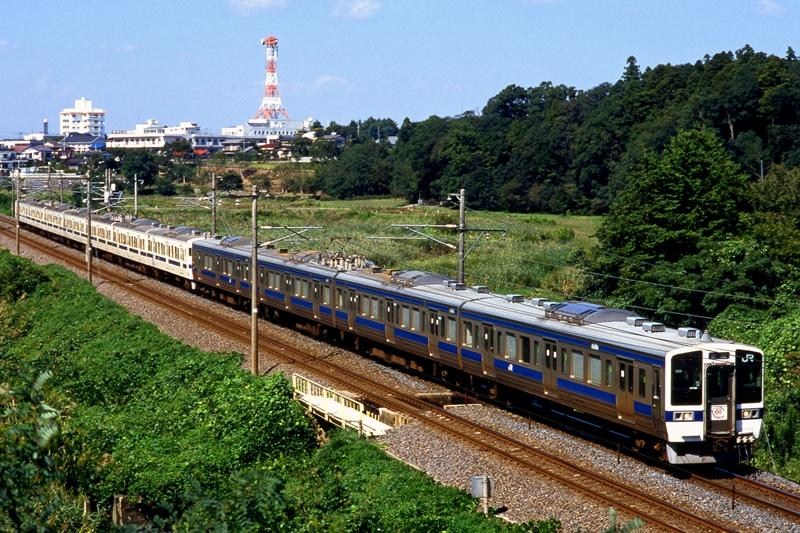 1997年10月1日 赤塚~偕楽園(臨)にて (2)