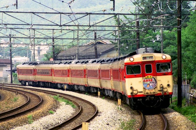 1990年8月12日 高槻~山崎にて