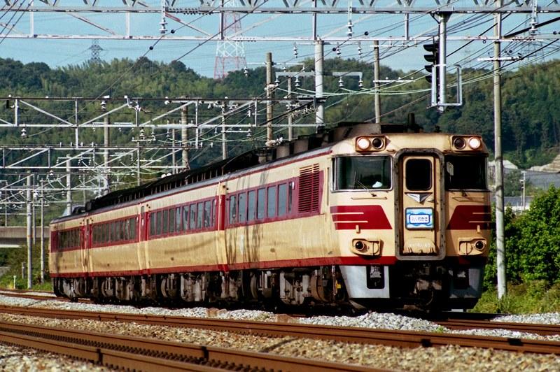 1996年8月13日 高槻~山崎にて