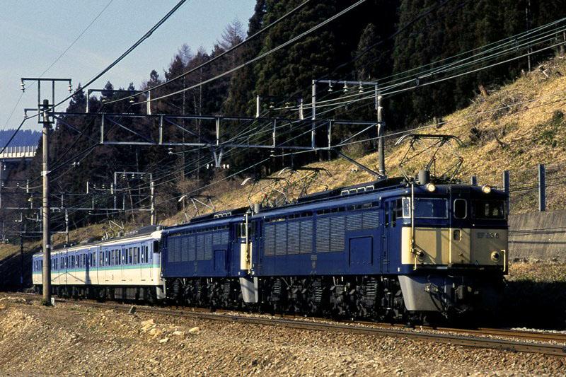 1997年3月18日 熊ノ平(信)~横川にて (2)