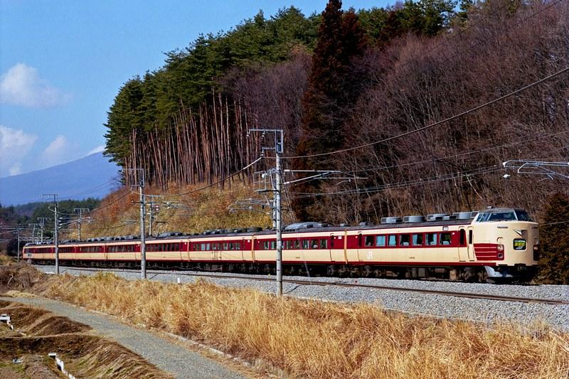 2002年3月3日 小淵沢~長坂にて