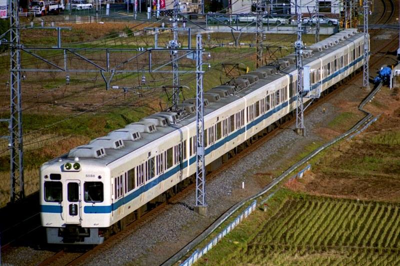 1990年12月24日 柿生~鶴川にて (2)