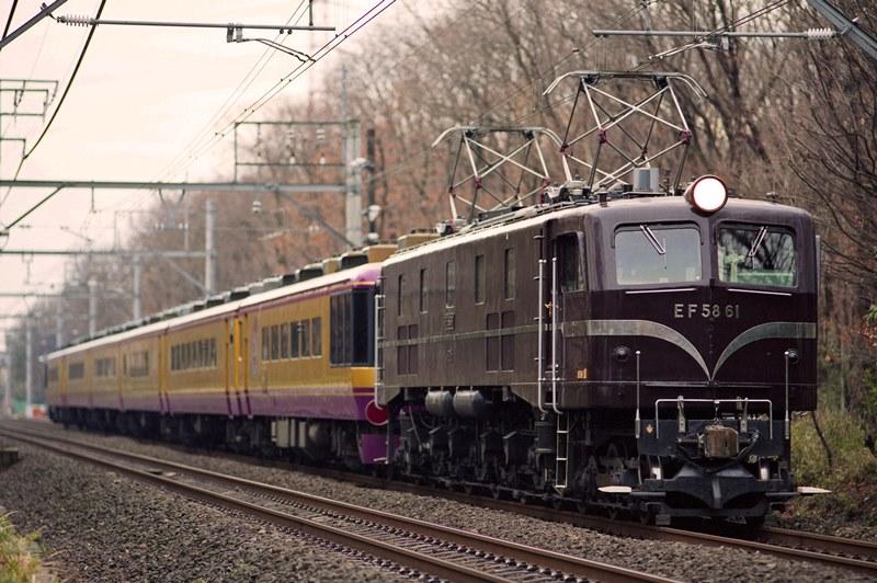 2002年12月21日 桶川~北本にて