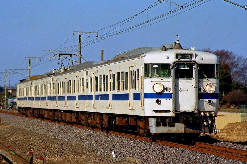 2000年1月2日 小田林~結城にて