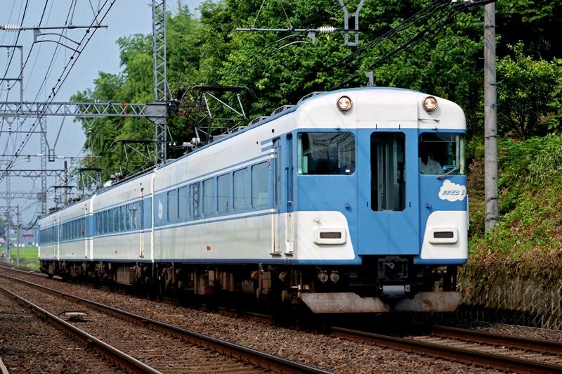 2004年7月23日 三本松~赤目口にて