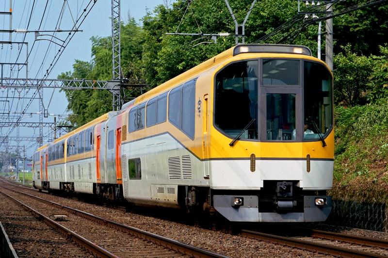 2004年7月23日 三本松~赤目口にて (2)