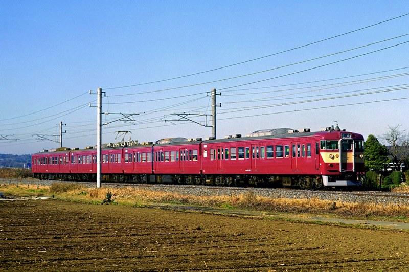 2001年12月16日 内原~赤塚にて