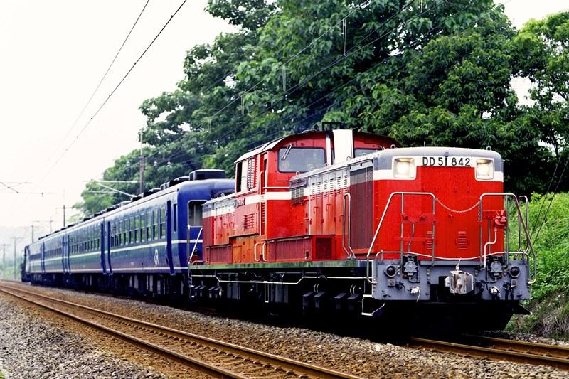 2005年7月23日 松井田~磯部にて