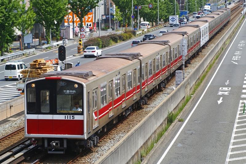 2014年5月22日 桃山台~千里中央にて (4)