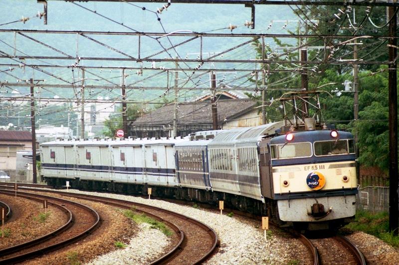 1990年8月12日 高槻~山崎にて (2)